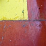 Detail am Boot