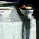 Teeschalen Wutai Shan, Nordosten der Provinz Shanxi, China