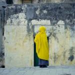 Mönch im äthiopischem Kloster Jerusalem, Israel