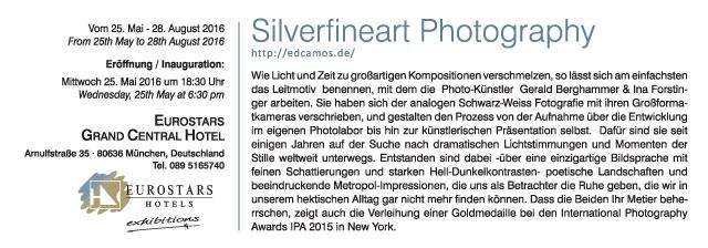 EDCAMOS | Silverfineart München